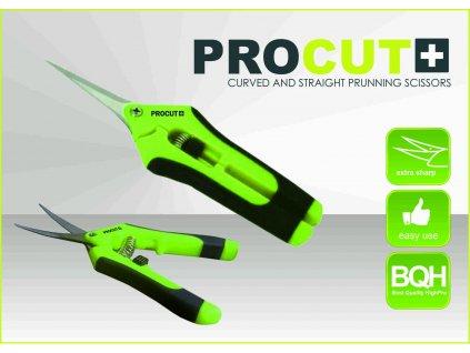 Nůžky zahradnické PRO CUT, velké rovné