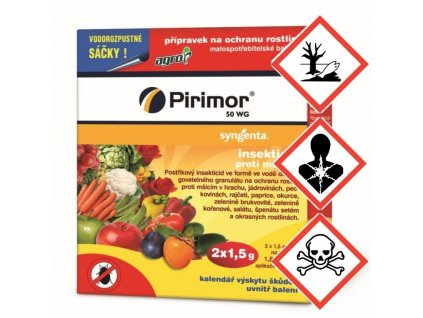 AGRO Pirimor 50 WG, insekticid, 2x1,5g
