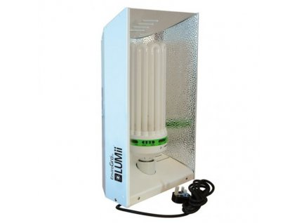Úsporná CFL lampa EnviroGro 250W Bloom, 2700K, E40 + stínidlo