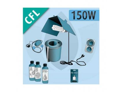 hydroponic indoor kit 150w cfl Img Principale 23443