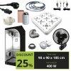 BASIC 400W (90X90X185CM) + Greenception LED GC 9