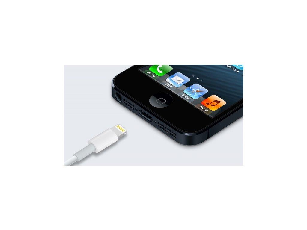 Servis iPhone 5 - Výměna (oprava) nabíjecího konektoru