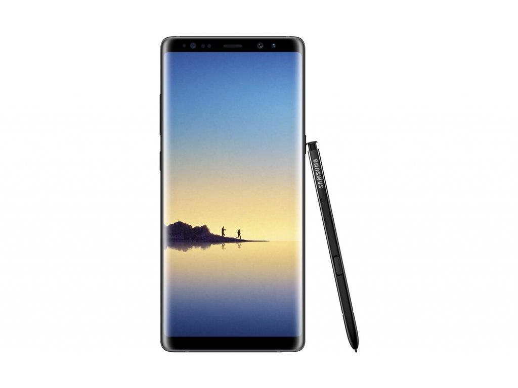 SM N950F GalaxyNote8 Front Pen Black SECZ