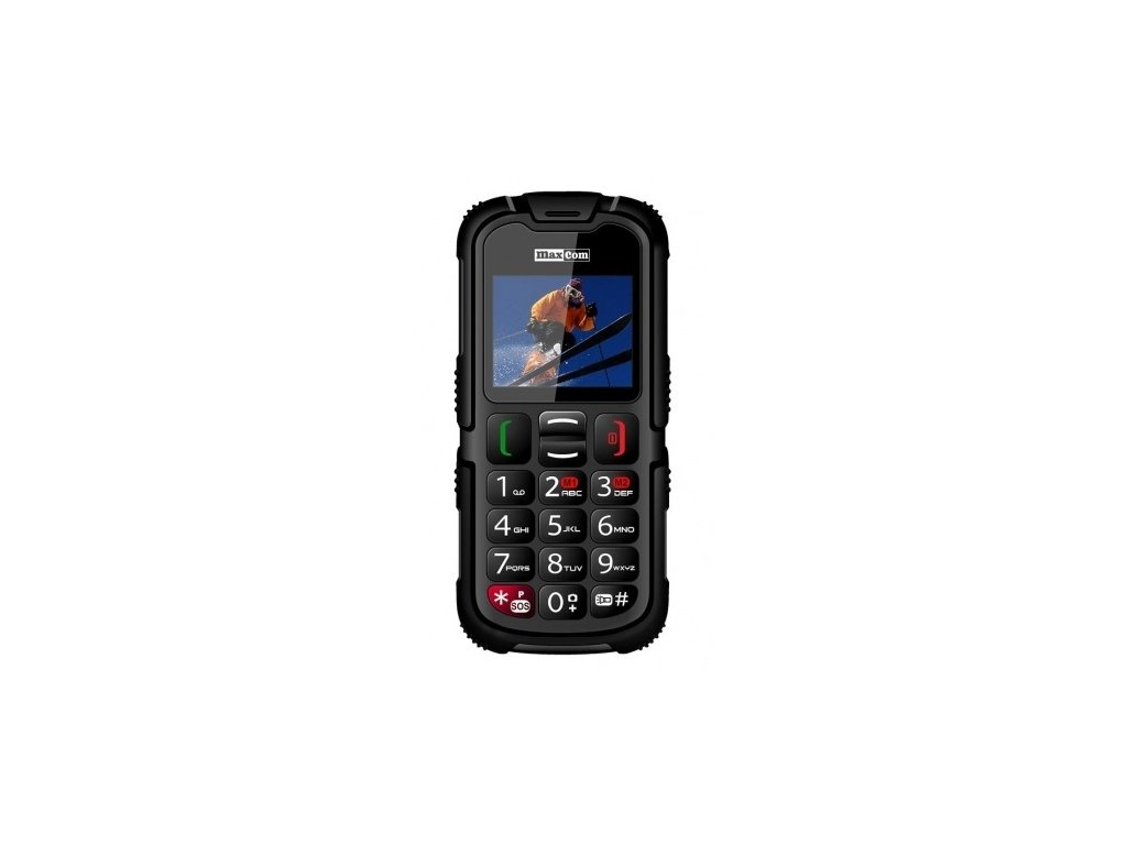 MAXCOM Strong MM910 DS gsm tel. Black