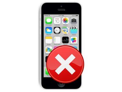 Servis iPhone 5C - Přehrání softwaru