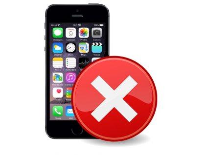 Servis iPhone 5S  - Přehrání softwaru