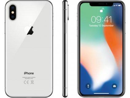 iPhone X 64GB Stříbrný
