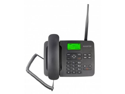 ALIGATOR T100 černý, stolní GSM telefon