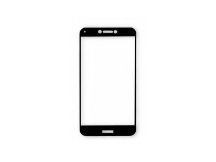 Ochranné tvrzené sklo ALIGATOR PRINT, Samsung A40, černá, celoplošné lepení