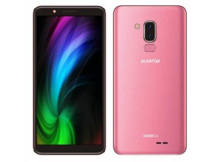 ALIGATOR S6000 Duo 16GB růžový