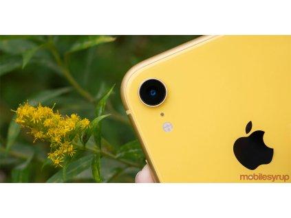 iphone xr camera header