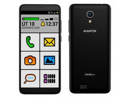 ALIGATOR S5520 Senior černý