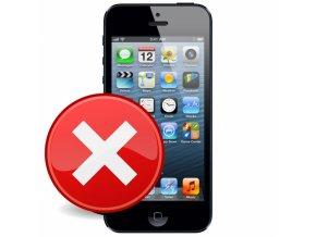 Servis iPhone 5 - Přehrání softwaru