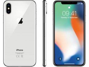 iPhone X 64GB Stříbrný  Bazar pěkný stav