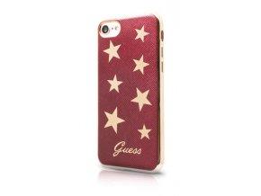 Guess Stars Soft PU Pouzdro Red pro iPhone 7