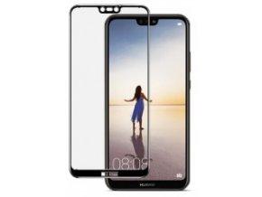 Ochrana displeje GLASS FULL COVER Huawei P20 Lite černá