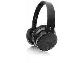Bluetooth sluchátka ALIGATOR AH02, FM, SD karta, černá