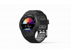 EVOLVEO SportWatch M1S Black Grey + sim karta zdarma