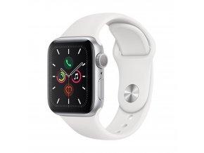 apple watch series 5 gps 40mm silver aluminium cas s