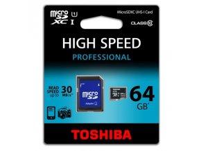 Micro SD SDHC 64GB, Class 10