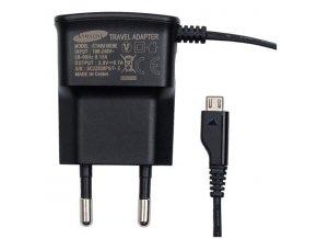 Nabíječka s micro-USB konektorem, černá