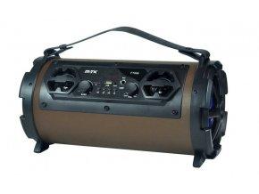Bluetooth Speaker PLUS FT999, s mikrofonem, hnědý