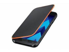Samsung Flipové neonové pouzdro pro A3 2017 Black
