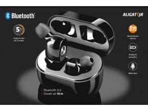 Bluetooth sluchátka ALIGATOR PODS PRO