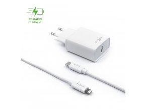 Screenshot 2021 02 22 Set síťové nabíječky FIXED s USB C výstupem a USB C Lightning kabelu, podpora PD, 1 metr, MFI, 18W, b[...]