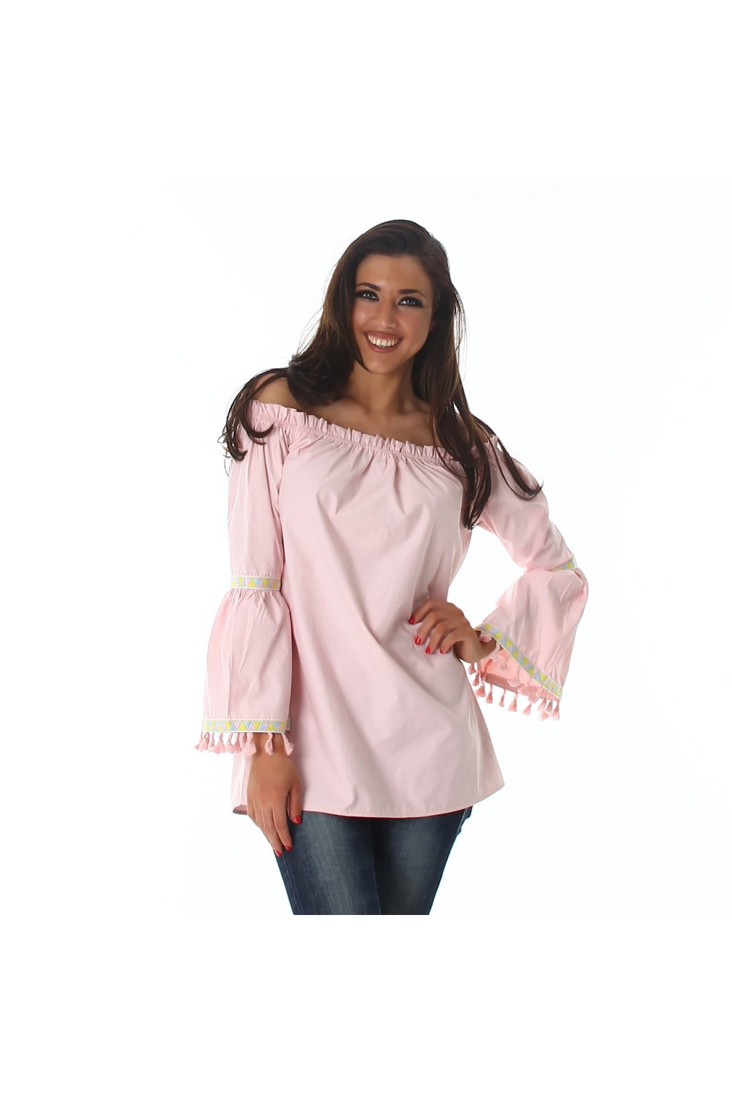 pink tunika