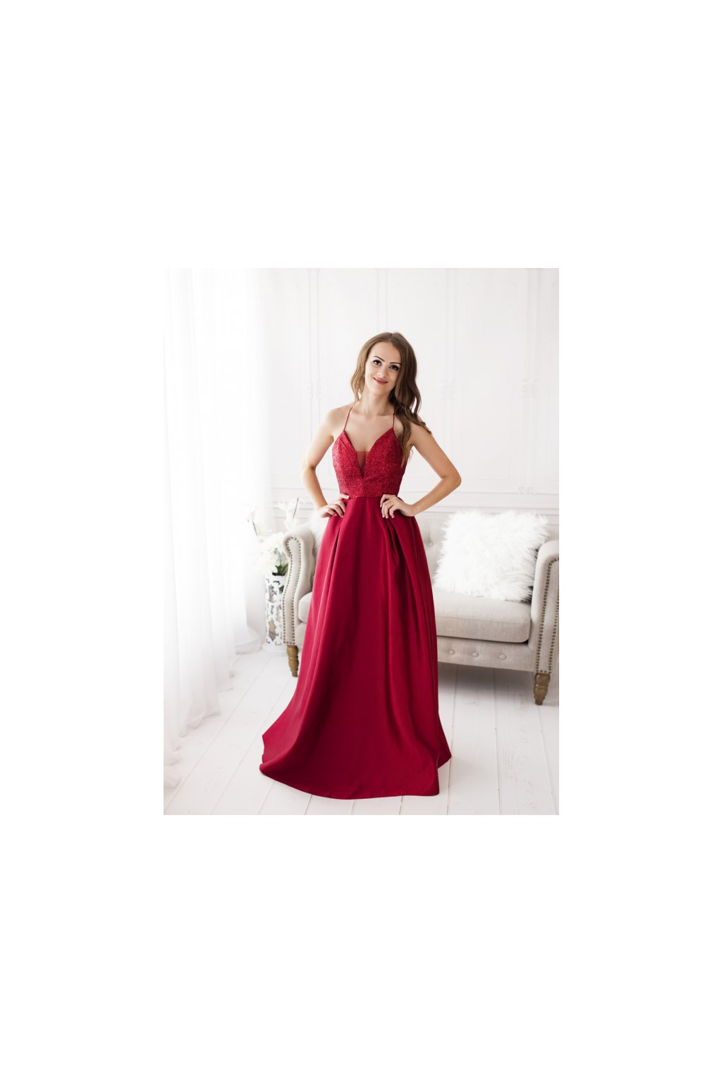 Originální společenské šaty z francouzské kolekce Eva Lola ♥ c8661c99aa