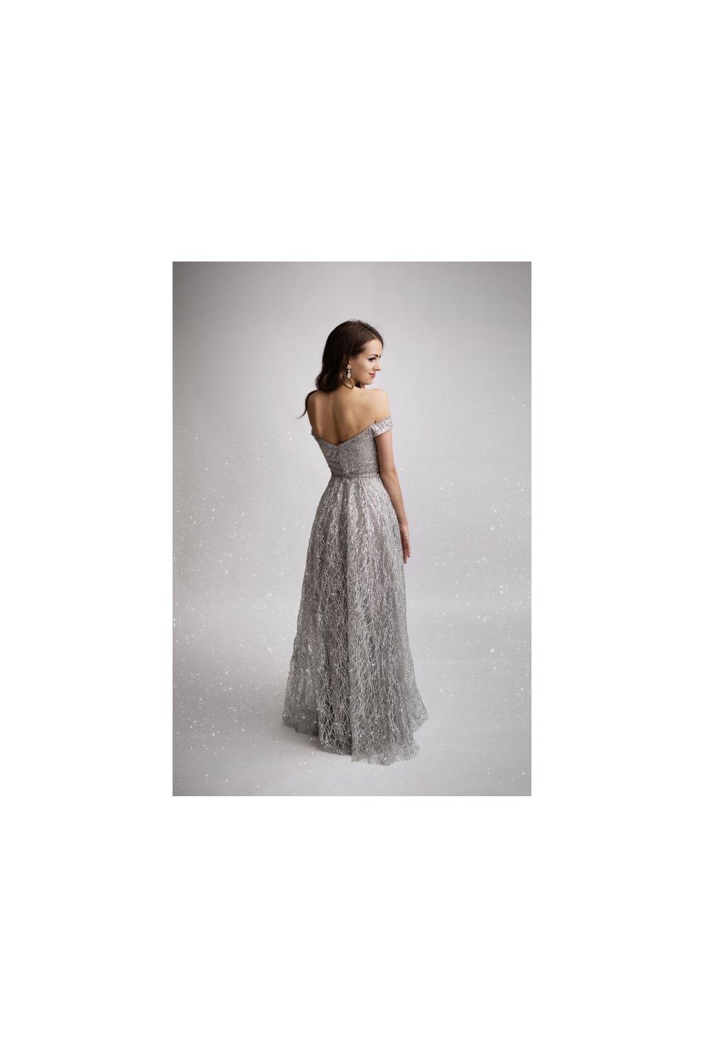 d3a8127e5c4 STRIBRNE SEDE · stribrne sede back. Luxusní plesové šaty z francouzské  kolekce Eva Lola ♥. Výměna velikosti nebo vrácení ...