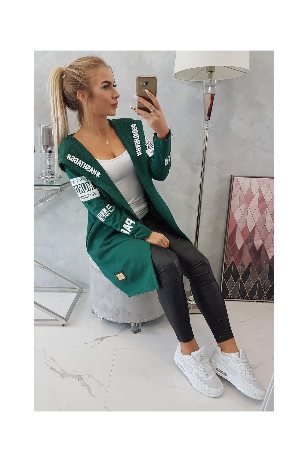 eng pl Coatee with subtitles green 18570 9