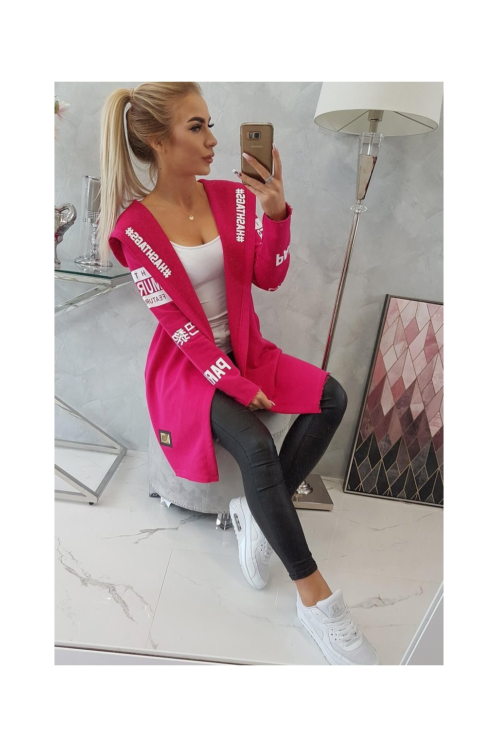 eng pl A coatee with subtitles fuchsia 12362 10