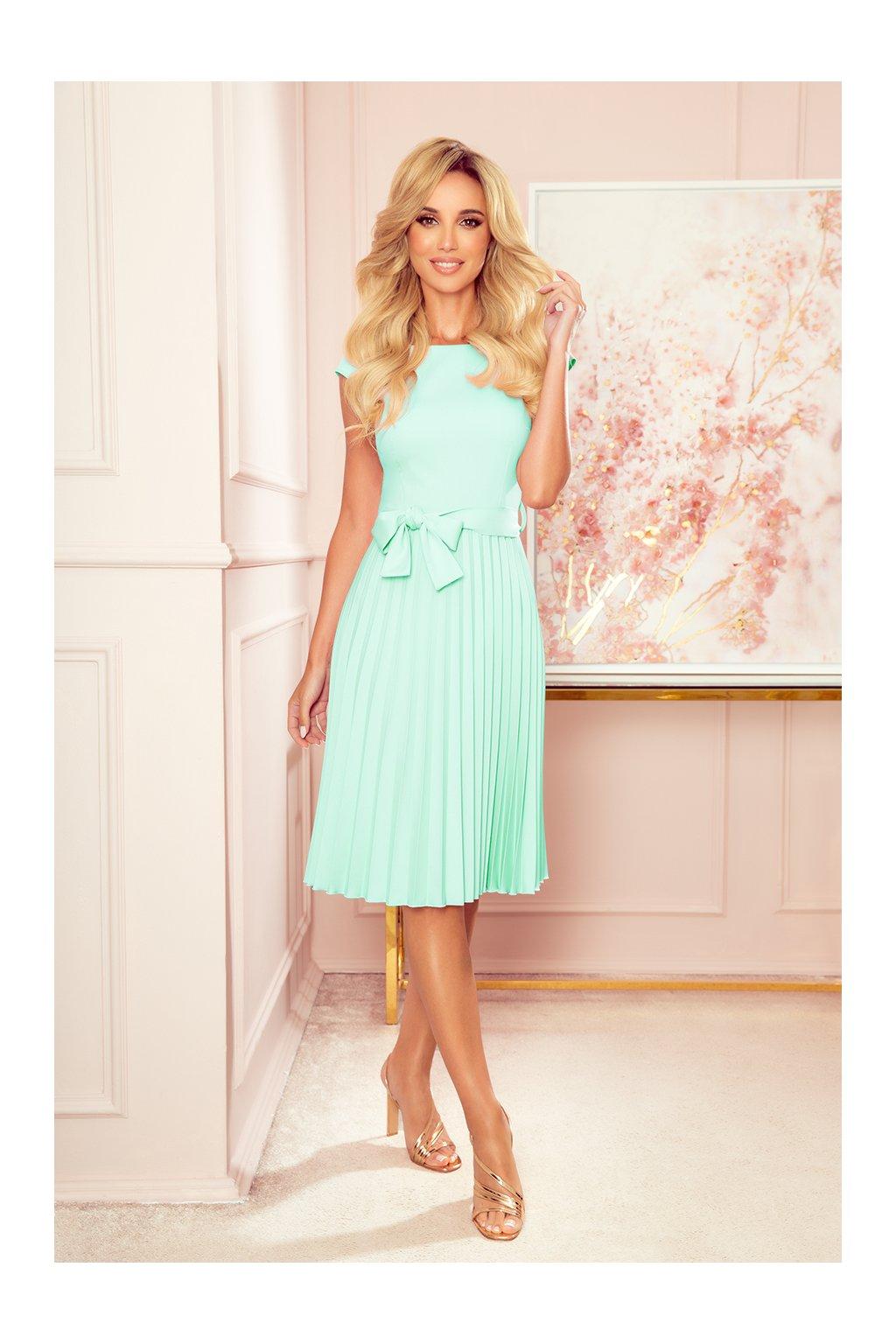 311 9 lila plisowana sukienka 12214