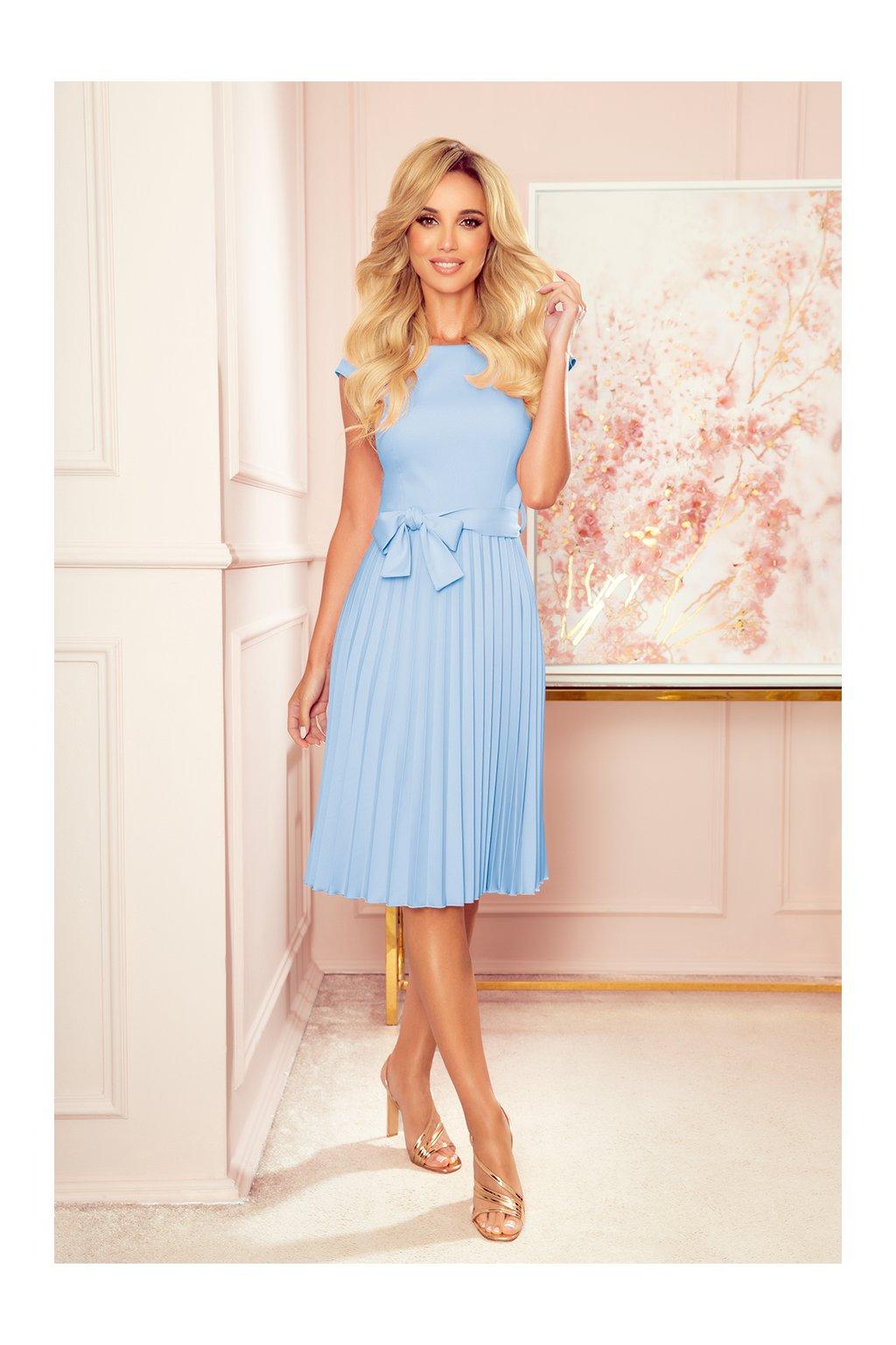 311 8 lila plisowana sukienka 12207