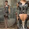 Společenské šaty s krajkovou aplikací, 32 - 42, RYCHLÉ DODÁNÍ
