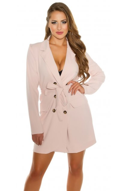 KouCla long sleeve mini dress buttoned belt Color ANTIQUEPINK Size Einheitsgroesse 0000BL78891 ALTROSA 12