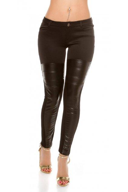 černé kalhoty treggings