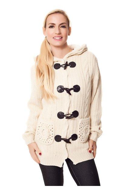 Designerský svetřík, kabát, k DODÁNÍ IHNED