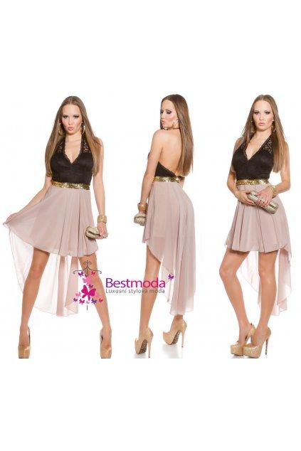 Asymetrické společenské šaty, RYCHLÉ DODÁNÍ