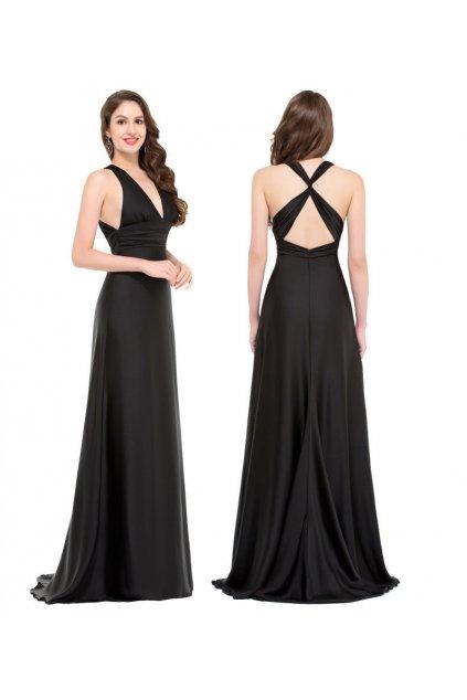 Černé společenské šaty, 32 - 44, RYCHLÉ DODÁNÍ