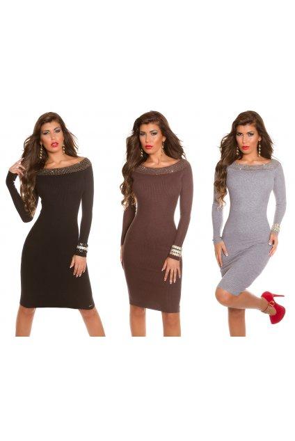 Úpletové šaty KOUCLA, 5 barev, RYCHLÉ DODÁNÍ