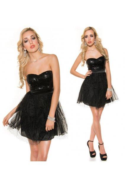 Černé koktejlové šaty, RYCHLÉ DODÁNÍ