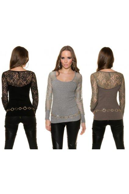 Designerské svetříkové topy, 4 barvy, RYCHLÉ DODÁNÍ