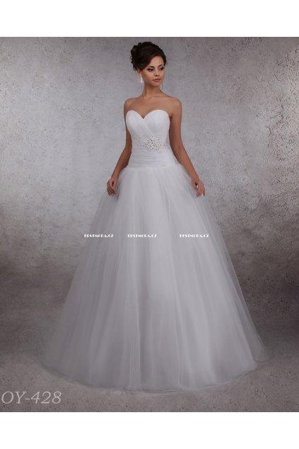 Korzetové svatební šaty na šněrování, RYCHLÉ DODÁNÍ