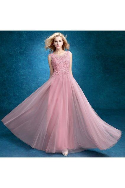 Růžové šaty do společnosti i na svatby, NA MÍRU