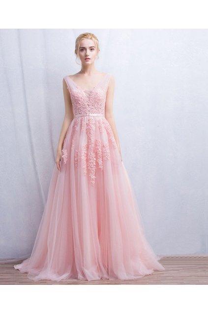 Luxusní společenské šaty, 5 barev, NA MÍRU