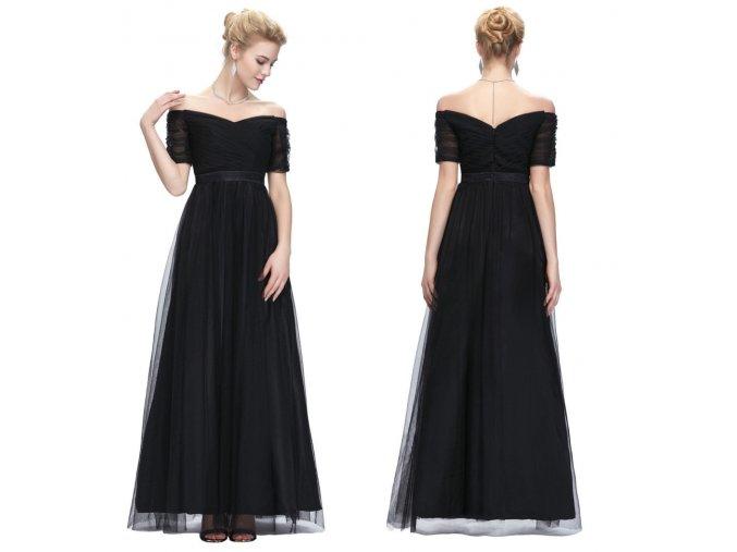 ČERNÉ společenské šaty, 32 - 44