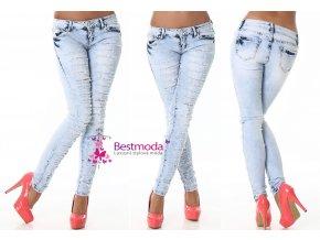 Trhané SKINNY jeans, 34 - 42, RYCHLÉ DODÁNÍ